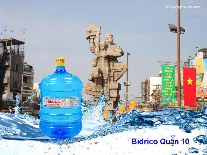 Đại lý nước tinh khiết Bidrico Quận 10