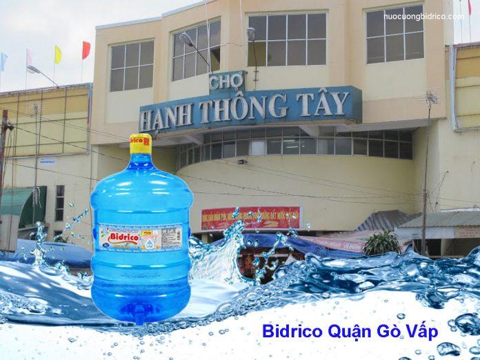 Đại lý nước tinh khiết Bidrico Quận Gò Vấp