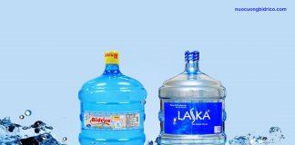 Nên chọn mua nước tinh khiết Bidrico hay Laska?