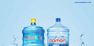 Nên chọn mua nước tinh khiết Bidrico hay Samari?
