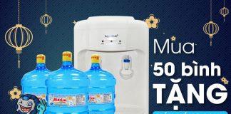 Mua nước Bidrico tặng máy nóng lạnh