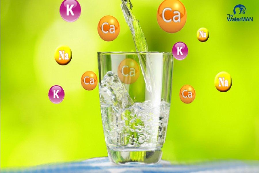 Nước khoáng chứa nhiều loại khoáng chất khác nhau