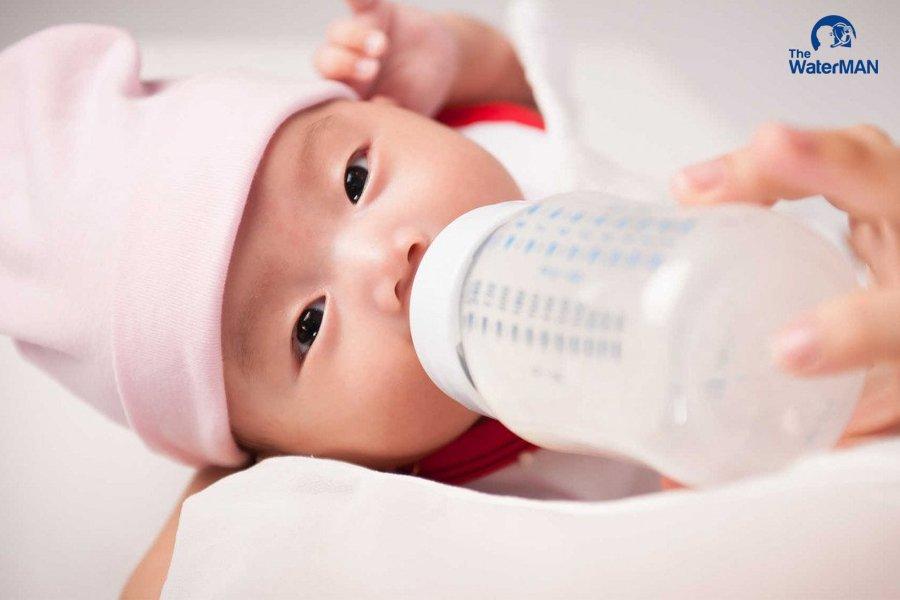 Nước khoáng có khả năng gây hại cho bé