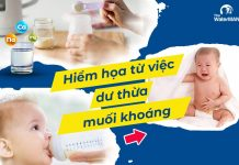 Có nên pha sữa bằng nước khoáng cho trẻ sử dụng?