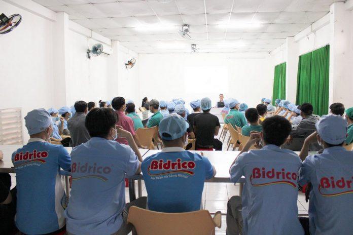 Nhân viên Bidrico được đào tạo an toàn lao động